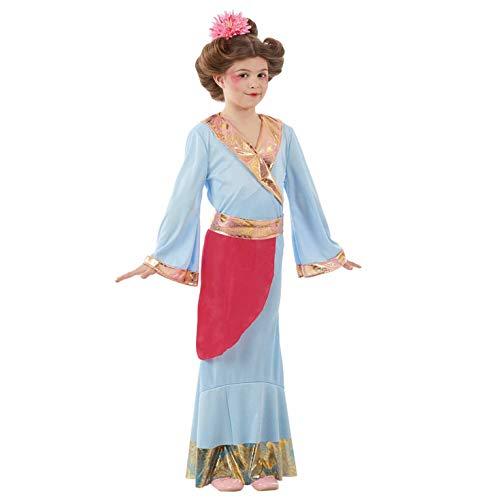 Fun Shack Azul Princesa Japonesa Disfraz para Niñas - S