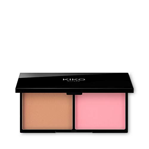 KIKO Milano Smart Blush And Bronzer Palette 01, 30 g
