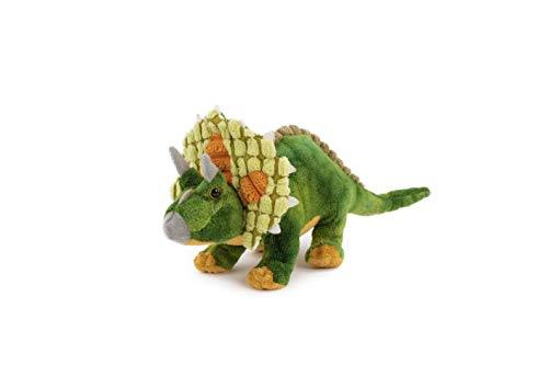 Trigon Triceratops, 26 cm, Plüschtier Kuscheltier Stofftier Dinosaurier Dinos Saurier