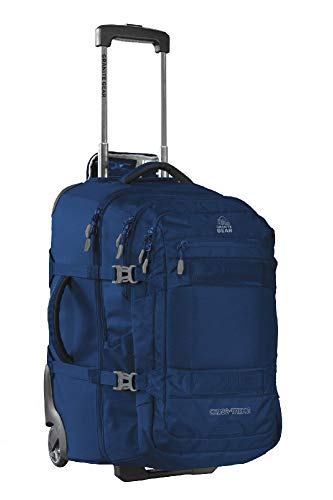 """Granite Gear Cross Trek 2 Wheeled Carry-On with 28L Removeable Backpack - Midnight Blue/Flint 22"""""""