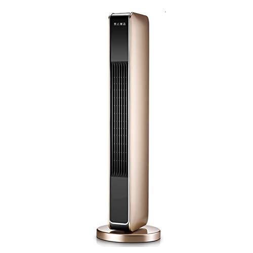 LIANGJING Home verticale elektrische verwarming laag geruisloos links en rechts zwenkt wind intelligente constante temperatuur, gouden mechanisch model