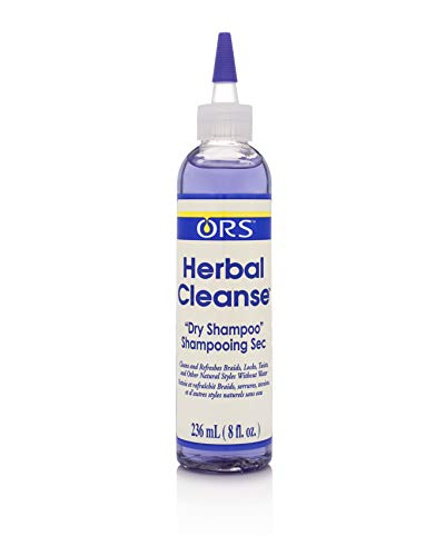 ORS Herbal Cleanse Hair and Scalp Dry Shampoo 8 Ounce (Pack of 1)
