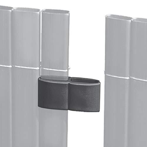 Videx-Mattenverbinder für Sichtschutzmatte Rügen, anthrazit
