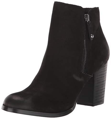 ALDO Women's Naedia Ankle Boot, Black Nubuck, 7.5