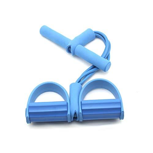 Xuyichangzhishi 11 Bandas de Resistencia Set Banda de Goma de Entrenamiento elástica Banda de Fitness elástica Equipo de Fitness de Resistencia cinturón de Ejercicio Cuerda de tracción Fitness-Azul