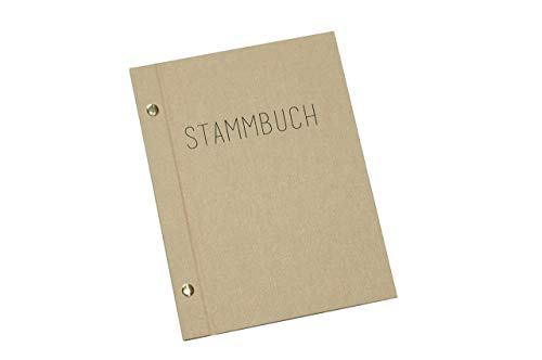 Stammbuch A5 Handgebunden