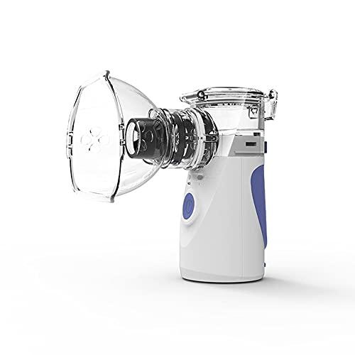 Nebulizador Portátil, Nebulizador Médico, Nebulizador, Inhalador, Nebulizador Silencioso, Humidificador, Nebulizador Portátil (Color : Blue)
