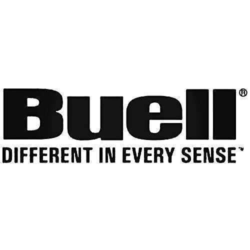 SUPERSTICKI Buell Diefferent in Every Sense ca 20cm Motorrad Aufkleber Bike Auto Racing Tuning aus Hochleistungsfolie Aufkleber Autoaufkleber Tuningaufkleber Hochleistungsfolie für alle gla