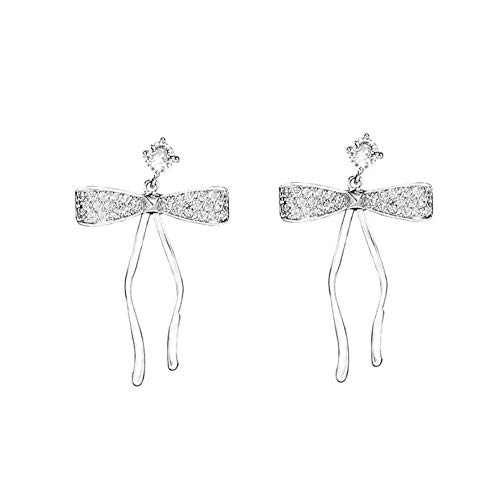 NA Earrings for Women Statement Earrings Long Slopes of Zirconites with Loop Womens Jewelry