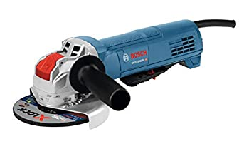 Bosch GWX10-45PE 4-1/2 In X-LOCK Ergonomic Angle Grinder with Paddle Switch