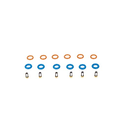 The Injector Shop 4-609 Fuel Injector Rebuild Seal Kit for BMW 6 Cylinder