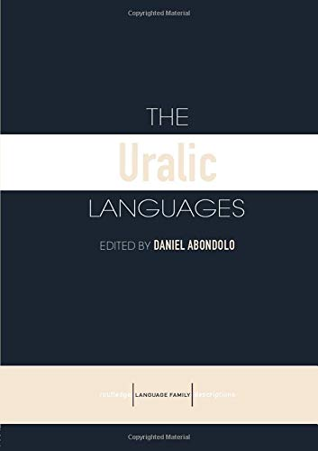Compare Textbook Prices for The Uralic Languages Routledge Language Family Series 1 Edition ISBN 9780415412643 by Abondolo, Daniel