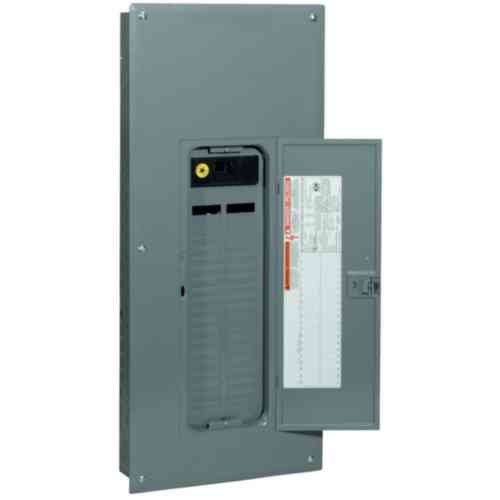 Square D by Schneider Electric QO140M200C QO 200 Amp 40-Space 40-Circuit Indoor Main Breaker Load Center with Cover