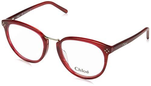 Chloé Brillengestelle Ce2690 Chloe Montature, Rosso (Rot), 53.0 Donna