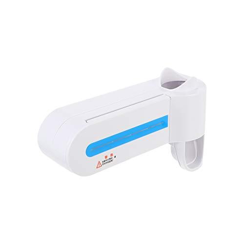 Cabilock Supporto per spazzolino da parete con dispenser di dentifricio automatico, per la camera da letto in hotel