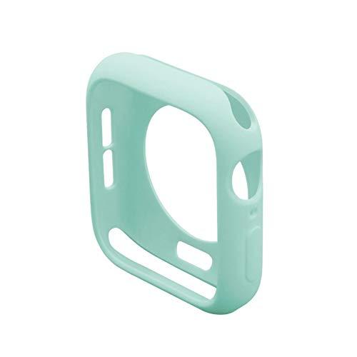 JWWLLT Funda de observación de Flyuzi para Apple Watch 5 4 3 Funda de caída de la Cubierta Bumper Soft TPU Silicone Funda para la Serie IWATCH 42mm 38mm 44mm 40 mm Cubierta