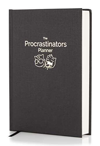 Product Image 1: The Procrastinators Planner – Daily / Weekly Organizer Designed to Increase Productivity and Combat Procrastination – Hardcover Half Year 182 Day Planner With Science and Philosopy of Procrastination