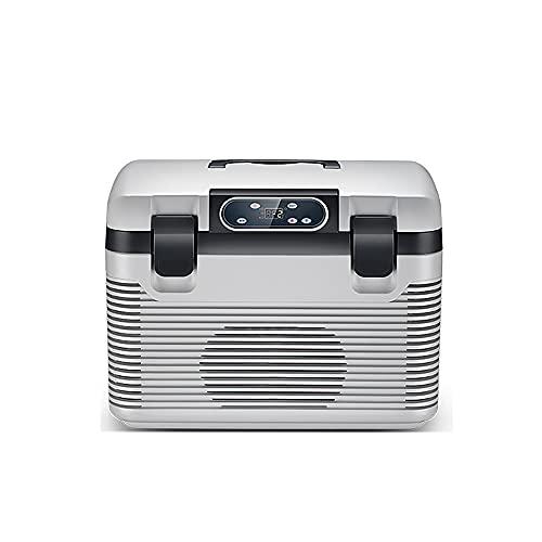 QPMY Refrigerador Pequeño, Mini Refrigerador De 6.7 Pies Cúbicos, Súper Gran Capacidad, Doble Propósito Frío Y Caliente, Refrigerador Horizontal para Automóvil, Congelador para Camión