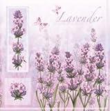 Tovaglioli di carta 33 x 33 cm lavanda Lavender