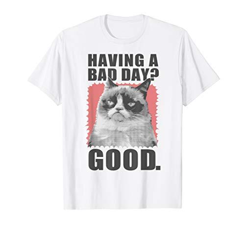 Grumpy Cat Having A Bad Day Good Graphic T-Shirt
