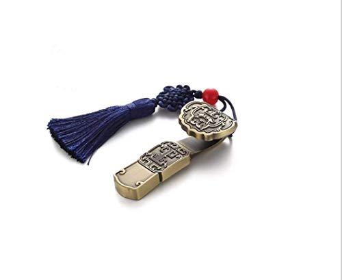 USB 2.0 USB Memory Stick, Chinese Style Thumb Drive, Jump Drive, Pen Drive for PC/laptop/PS4/External Storage Data/Digital Photo/Video Memory (64GB, Jade Ruyi)