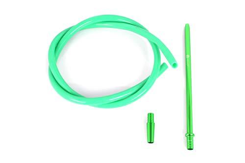 Mata Leon Silikonschlauch & Mundstück Set, SSS100 gruen (green)
