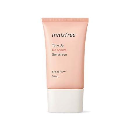 イニスフリー トーンアップ ノーシーバムサンスクリーン50ml / innisfree Tone Up No Sebum Sunscreen SPF35 PA+++ [並行輸入品]