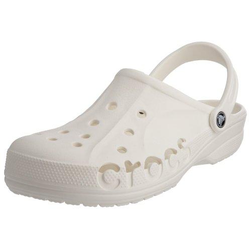 Crocs Unisex-Erwachsene Baya' Clogs, Weiß (White), 36/37 EU