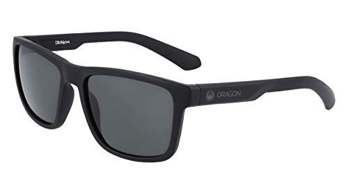 DRAGON EYEWEAR Dr Reed Ll-002 Gafas, Matte Black/Ll Smoke, 57/17/140 para Hombre