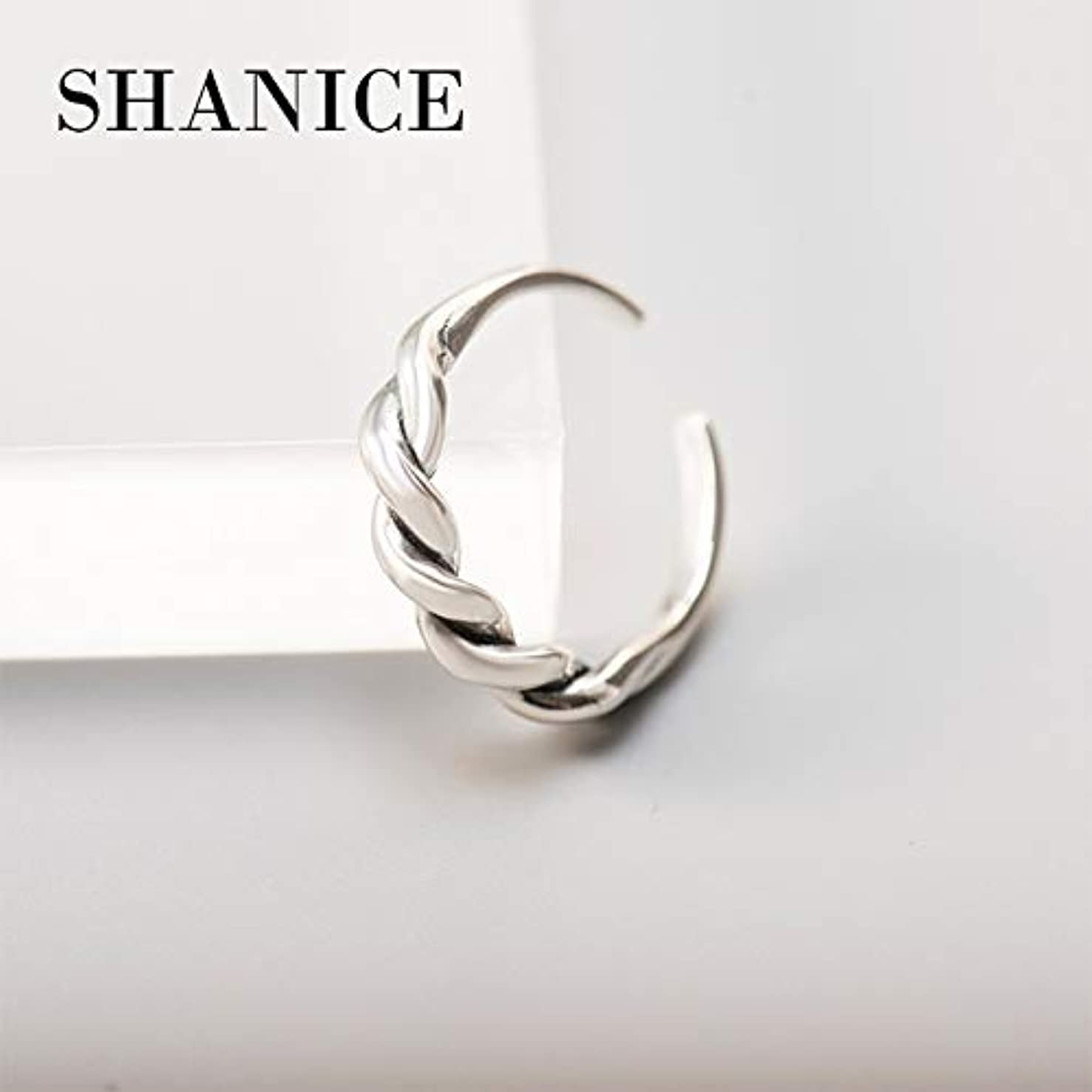 Korean Style Authentic Pure 925 Sterling Silver Unique Minimalist Opened Rings | for Women | Party Jewelry