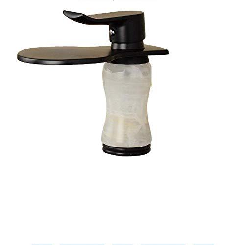 SPRINGHUA Cuenca del Grifo Creativo Nueva Caliente y fría mezclada Individual levantado mármol Lavabo Grifo grifos de baño grifos de baño