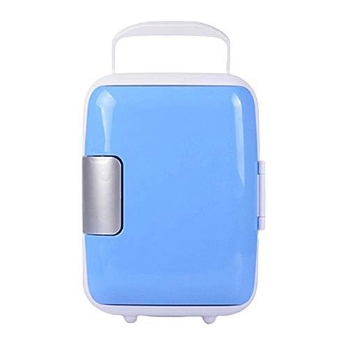 Mini refrigerador 4 litros Refrigeradores portátiles con función de refrigeración y calefacción, 12 V AC/DC para automóviles y hogares, Mini refrigeradores termoeléctricos para el Cuidado de la Piel