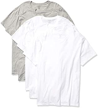 5-Pack Calvin Klein Mens Cotton Classics Crew Neck T-Shirts