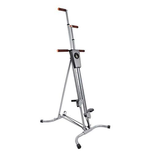 M-YN Máquina de Escalada Stepper Fitness Vertical Gym, Altura Ajustable, Antideslizante, Plegable,...