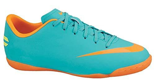 Nike Junior Mercurial Victory III Interior Azul, Naranja Cargador de Dispositivo móvil, Multi (Azul/Naranja), 31 EU