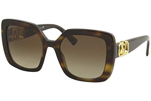 Valentino sonnenbrille VA4065 515113 havana braun größe 53 mm frau