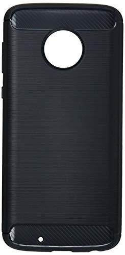 Capa Carbon Fiber para Moto G6, iWill, BCF MG6 BK, Preta