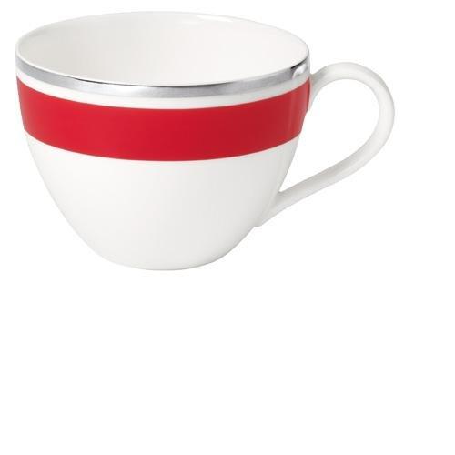Villeroy & Boch 0,2L Kaffeeobertasse Anmut My Colour aus Premium Bone Porzellan Farbe: Red Cherry