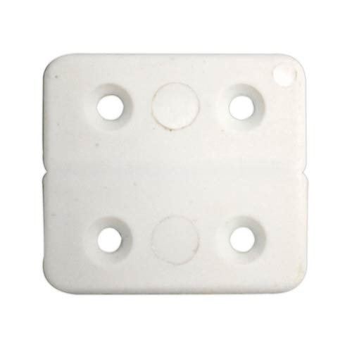 Fawo PVC-Scharnier weiß 40 x 40 mm 5er SB