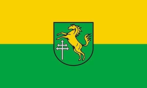 Unbekannt magFlags Tisch-Fahne/Tisch-Flagge: Ingoldingen 15x25cm inkl. Tisch-Ständer