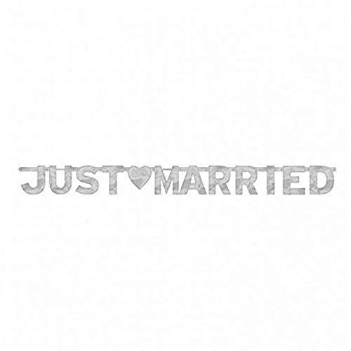 amscan International Banderole Just Married