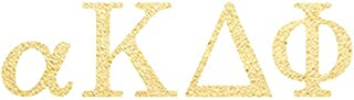 Alpha Kappa Delta Phi-Temporary Tattoos (10-Pack) | Skin Safe | MADE IN THE USA| Removable