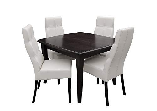 Mirjan24 Esstisch Stuhl Set RB34 Essgruppe, Tischgruppe, Sitzgruppe Esstischgruppe, Esszimmergarnitur (Wenge, Soft 017)