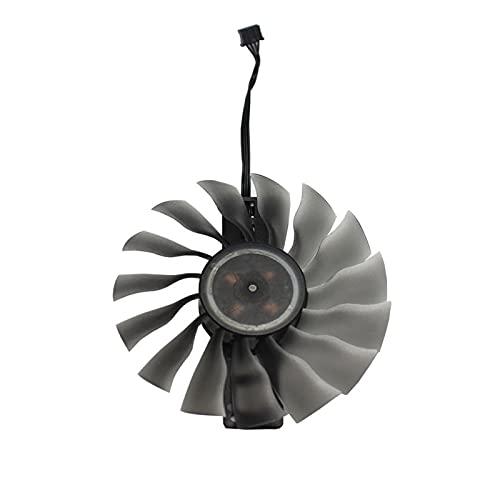 Jinyouqin 95mm FD10015H12s GAA8S2U Fan GTX 1080TI GTX1080 GTX1070 TI GPUCARD Kühler für Palit GTX 1080 1070 Jetstream-Karten als Ersatz (Blade Color : A 1PCS)