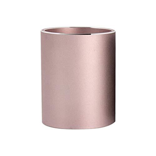 Wenyounge Escritorio de aleación de Aluminio Pluma lápiz Organizador de Almacenamiento portavasos contenedor papelería