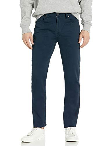 Dickies Herren Flex Slim Fit Tapered Leg 5-Pocket Arbeitshose, Blau (Dark Navy DN), 36 Kurz