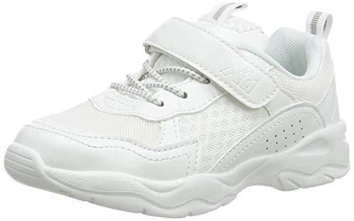 XTI 57044, Zapatillas sin Cordones para Niñas, Blanco (Blanco Blanco), 31 EU
