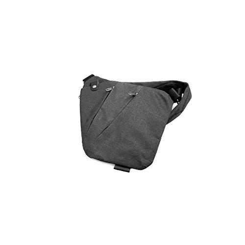 System-S Achsel Unterarm Tasche Schultertasche Sicherheitstasche Holster Umhängetasche Brusttasche für Rechtshänder für Tablet PC und vieles mehr, schwarz, Universal