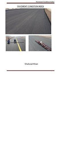 Pavement Condition Index (PCI Book 1)