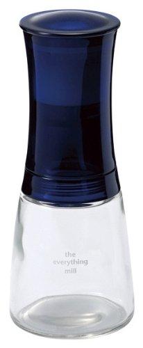 Kyocera Kräuter- und Gewürzmühle The everything mill mit verstellbarem Keramikmahlwerk, Höhe: 16 cm, 21x7x7 cm, blau, CM-20-BU